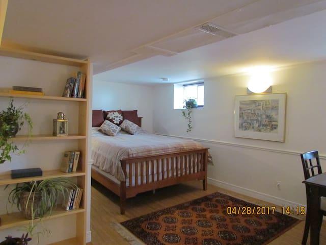 Cozy desirable central spot.