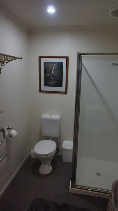 ...the bathroom...