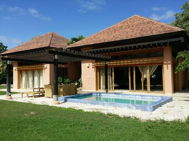 Green Village 3bed + pool - Cap Cana - Hus