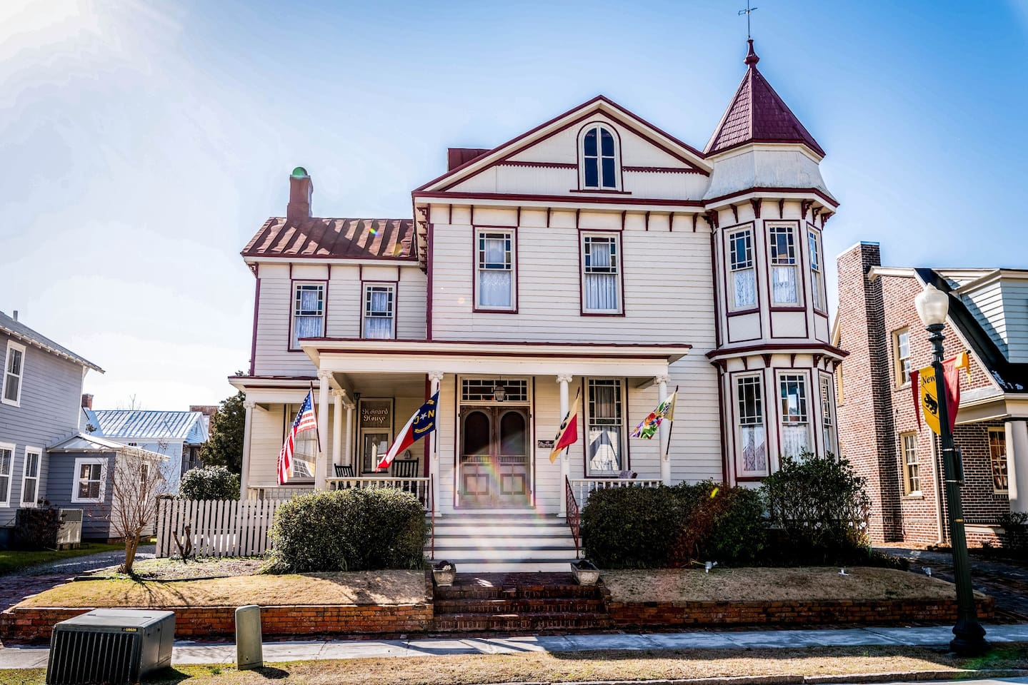 """Apartment """"A"""" in the Historic James M Howard House in Downtown New Bern."""