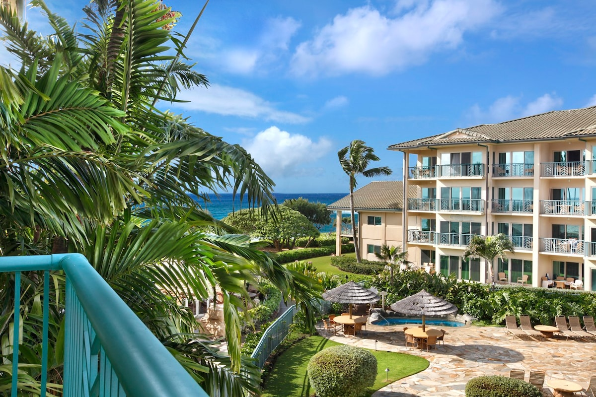 A301 WAIPOULI BEACH RESORT 1 BEDROOM WITH AC Condominiums for