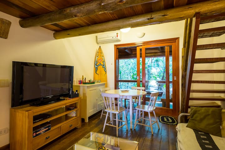Beautiful loft in front of the Maresias beach (24)