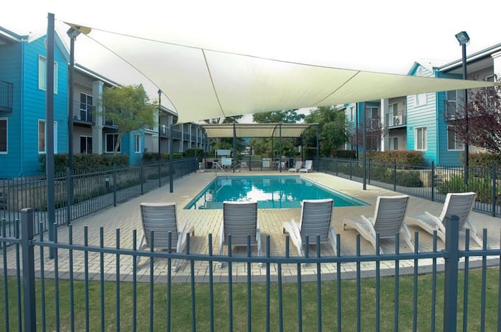 Resort swimming pool and spa available for your use