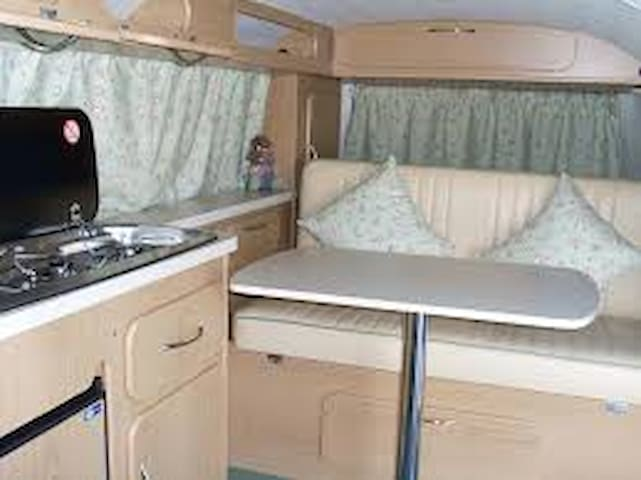 1972 California Bay Camper - Bordeaux - Bobil