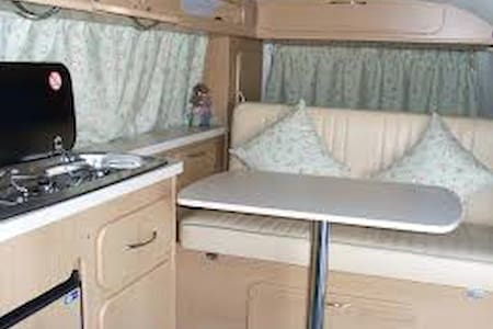 1972 California Bay Camper - Bordeaux - Camper/RV