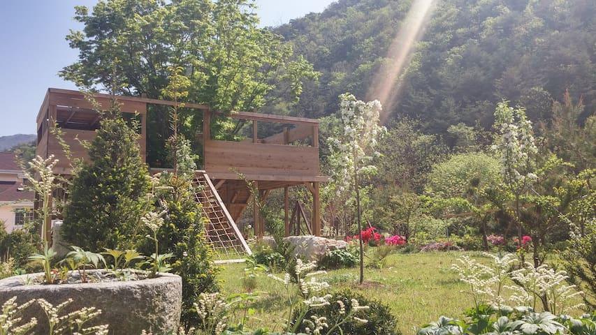 김삿갓계곡의 농장체험 가능한 숙소