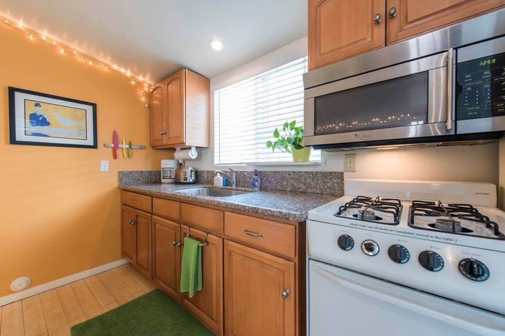 Fully Equipped Kitchen..