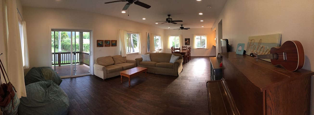New, Large Home: 4bd, 3bth - Laie - House
