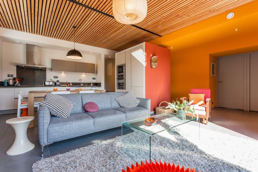 Maison d 39 architecte bois earth houses for rent in cabri s provence alpes c te d 39 azur france - Maison architecte mark dziewulski ...