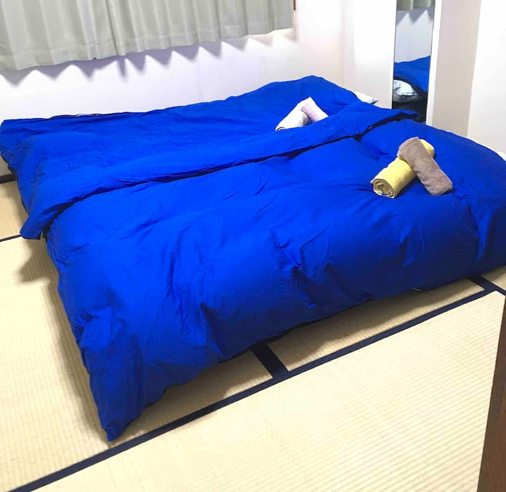 Oh! Tatami room. 30㎡ large room in Ueno.