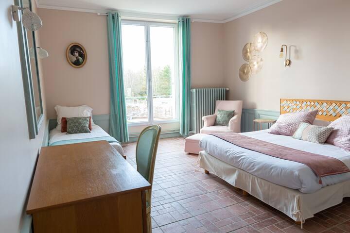 Chambre dans maison d'hôtes proche Morêt-sur-Loing