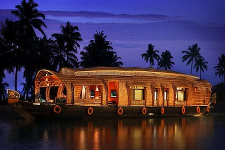Double Bedroom House Boat For 5 PAX - Alappuzha - Boat