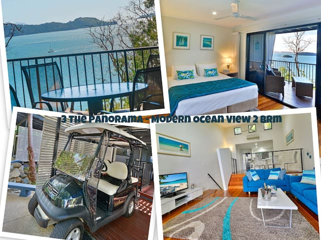 3 The Panorama - Modern Ocean View - Hamilton Island - Lejlighed