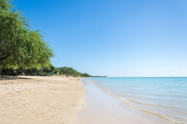 Ocean Front! 2 bedroom 2 bath! Caribbean Sea!