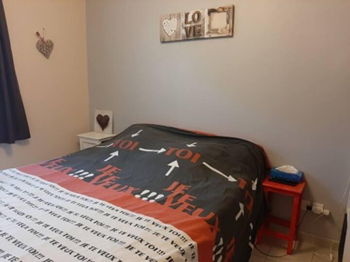 Chambre propre et cosy