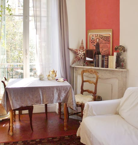 Authentic & Artsy: Niçois 1 BR/F2 apartment - Nice - Leilighet