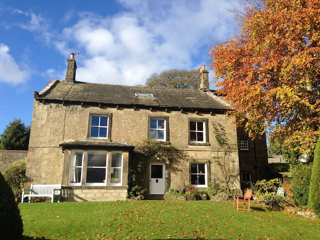 Historic country home with wonderful Dales views - Hetton - Haus