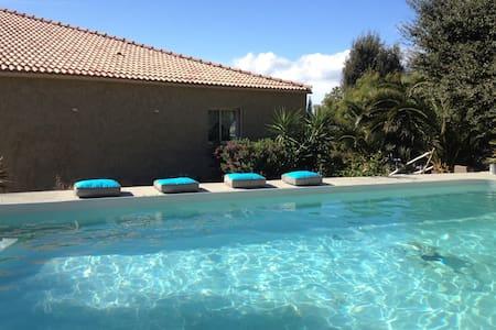 10' SAINT FLORENT T3 avec piscine - Barbaggio