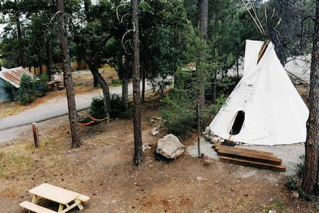 Mountain Glamping Tipi