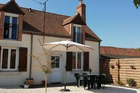 Gîte l'opale entre Loire à Vélo et Chambord