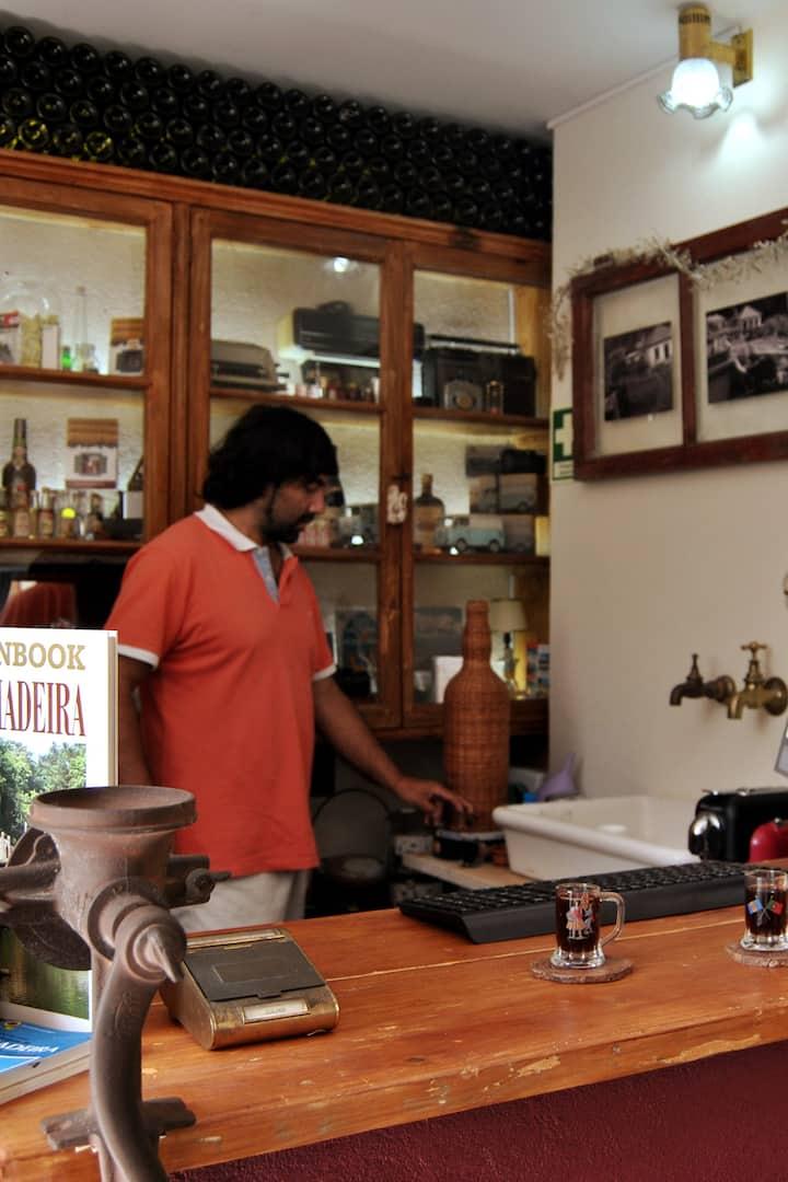O nosso Bar e Receção da propriedade!