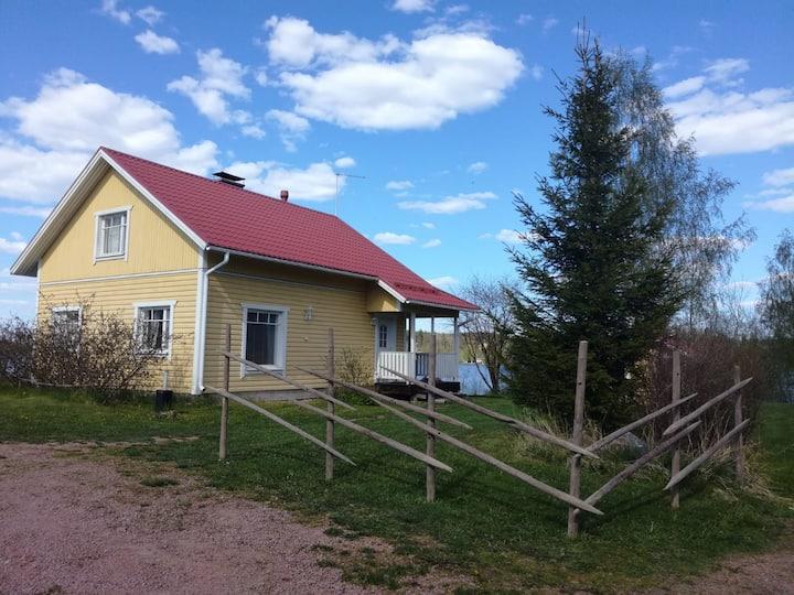 Mökki + palju maaseudulla / Countryside cottage
