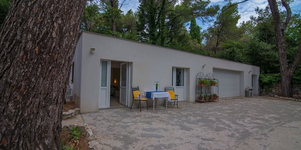 apartment for 2 persons in Mali Lošinj R84575