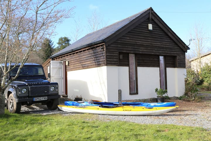 The Honeypot Chalet, South Devon - Rattery, Nr Dartmoor - Alpstuga