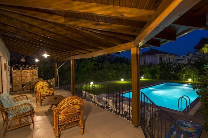 Villa Ankakuşu huzurlu ve sakin
