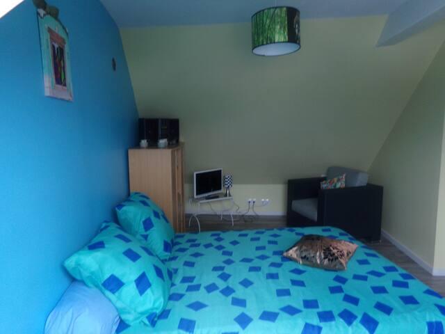 Chambre à15mn du centre de Lorient