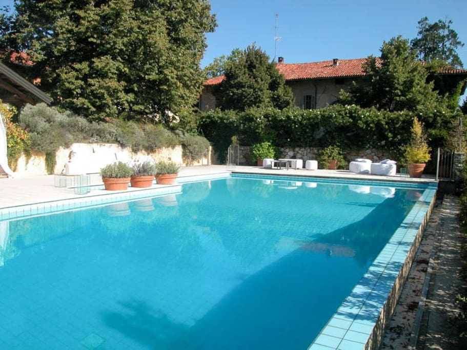Historical Villa 1 Hour From Milan Villas For Rent In Quaregna Piemonte Italy