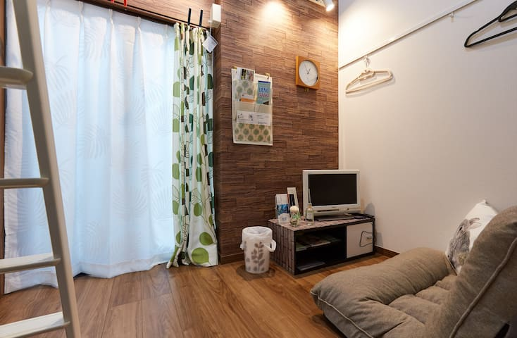Tokyo 2min to Station! Up to 4! Free Wifi! - Shinagawa-ku - Apartment