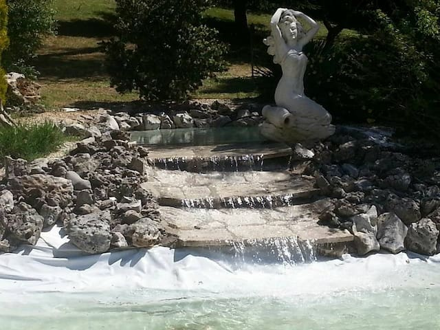 Splendida Villa / B&B con piscina e parco privato - Sacrofano
