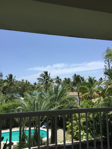 Room at Cabarete on a Private beach community! - Puerto Plata - Appartement