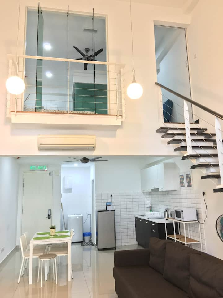 Scott Garden Apartment 6 Pax #50 + 2 Free Car Park