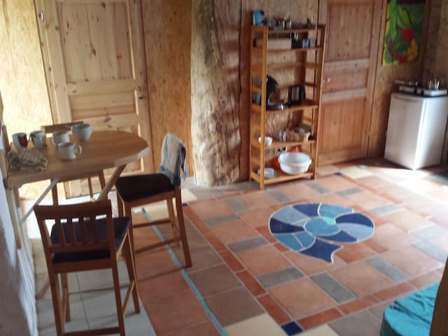 Wohnen in marokkanischem Ambiente, im Künstlerhaus