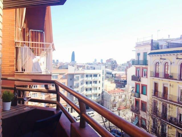 Nice room close to Sagrada Familia - Barcelona - Apartmen