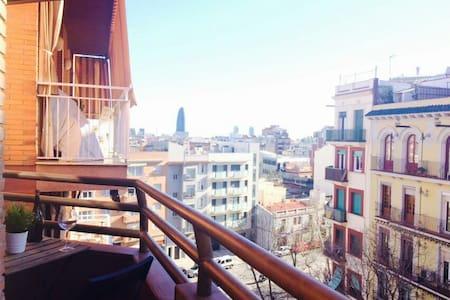 Nice room close to Sagrada Familia - Barcelona - Apartment