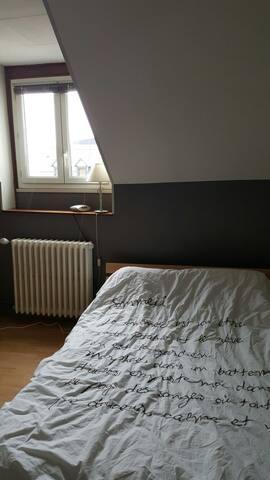 Chambre dans grande maison calme - Bourges - Huis