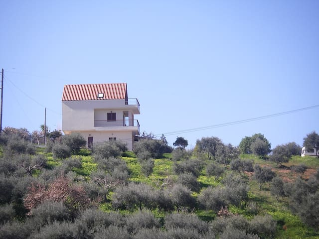 Apt in Chania walking distance to all & topseaview