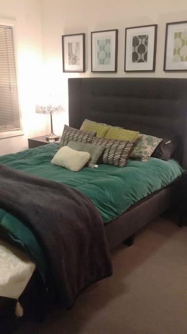 Master bedroom comfort