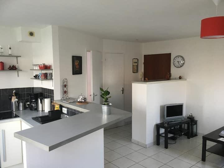 Bel appartement fonctionnel proche centre-ville