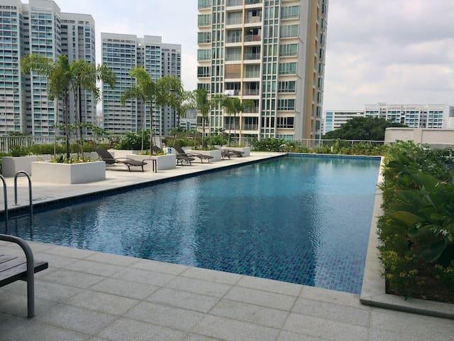 Cityview Studio Unit@Town - Singapore - Apartment
