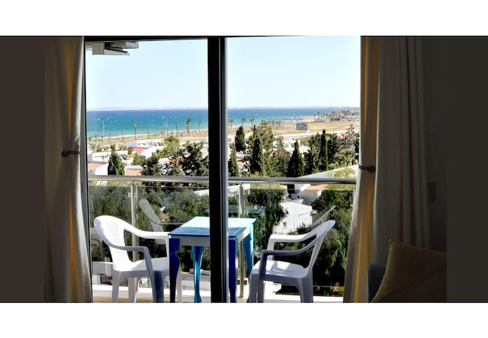 1 BEDROOM FLAT WITH SEAVIEW - Famagusta Bay, Long Beach