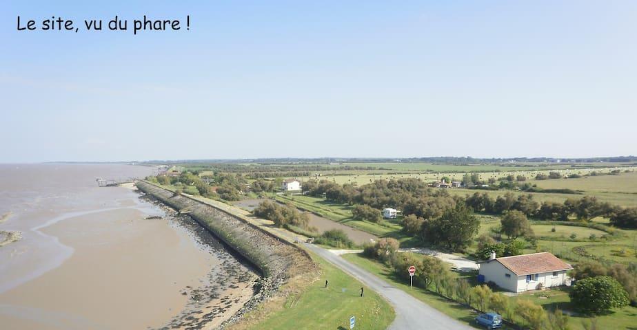 Maison en bord de Gironde