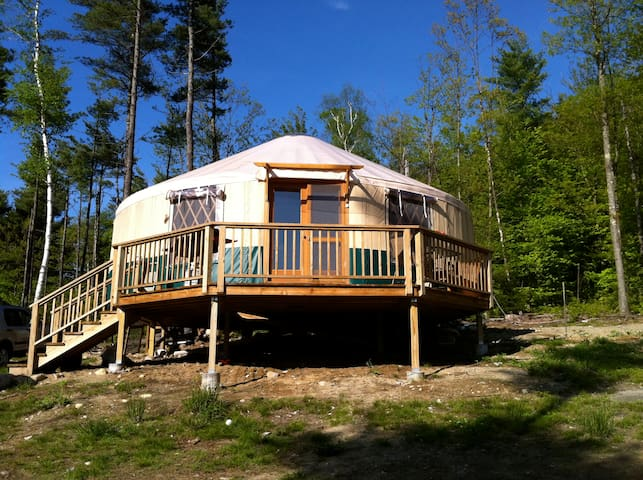 Beautiful Adirondack Cabin/Yurt - Elizabethtown