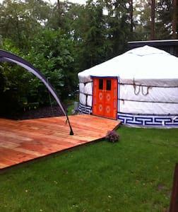 Ingerichte yurt op kleine camping - Hengelo - Yurt
