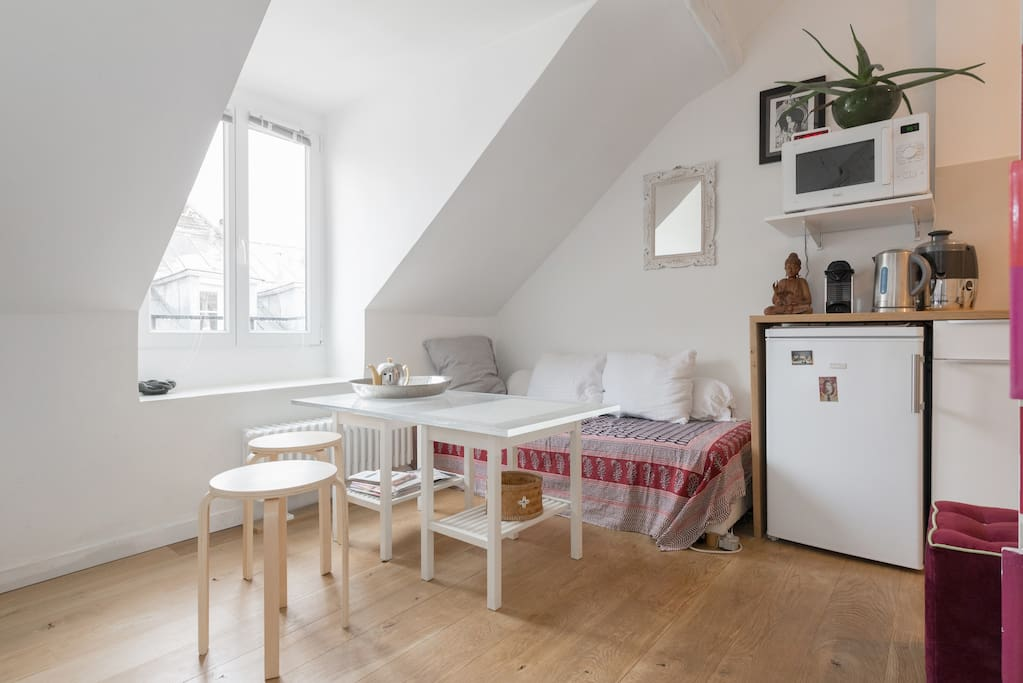 Petit nid strasbourg st denis appartements louer - Nid rouge lincroyable appartement paris ...