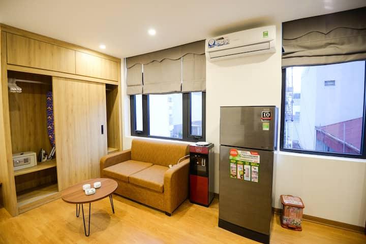 Hanoi Japanese style 1BR apartment/serviced/luxury