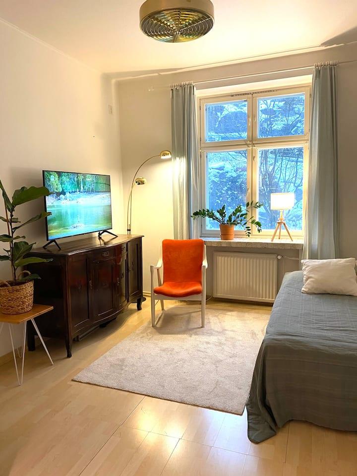 A cosy studio in the trendy Kallio district